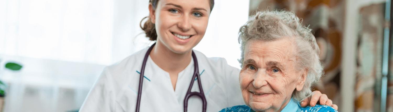Opiekunka nad seniorami